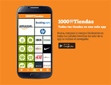 Tablet Preview of 1000tiendas.net